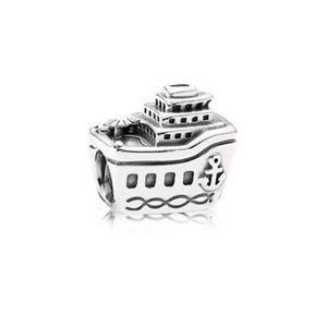 Sterling Silver Cruise Ship Pandora Charm